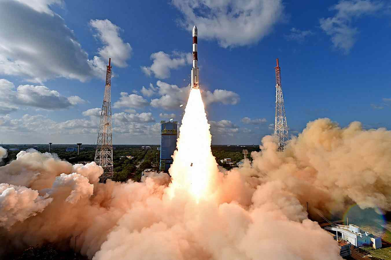 50th launch of #PSLV By ISRO