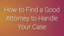 find good attorney