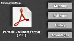 pdf meaning in marathi
