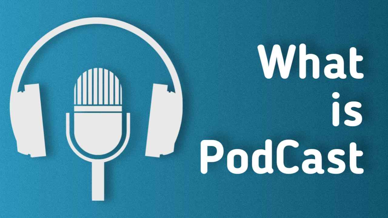 what is podcast meaning in marathi